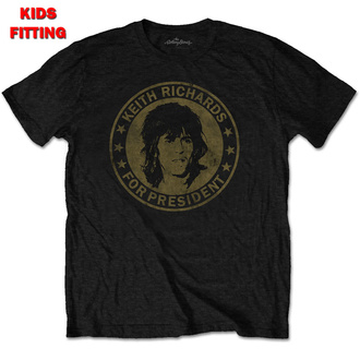 t-shirt children's Rolling Stones - Keith For President - ROCK OFF, ROCK OFF, Rolling Stones