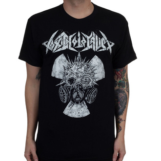 Men's t-shirt Toxic Holocaust - Radiation Gas Mask - Black - INDIEMERCH, INDIEMERCH, Toxic Holocaust