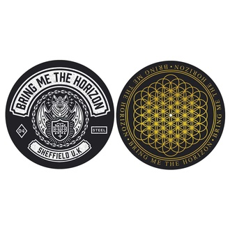 Gramophone mat (set of 2 pcs) Bring Me The Horizon - Sheffield UK - RAZAMATAZ, RAZAMATAZ, Bring Me The Horizon