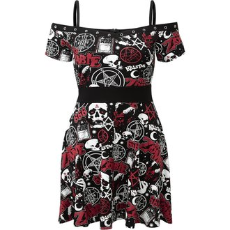 Women's dress KILLSTAR - ROB ZOMBIE - Spookshow - BLACK, KILLSTAR, Rob Zombie