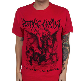 Men's t-shirt Rotting Christ - The Mystical Meeting - True Red - INDIEMERCH, INDIEMERCH, Rotting Christ