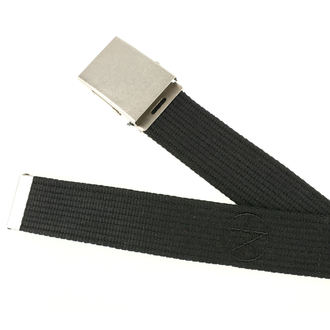 Belt PAS-204, BLACK & METAL