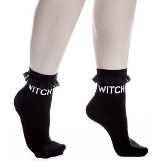 socks (set of 3 pairs) KILLSTAR - Witchy Bitchy - Black, KILLSTAR