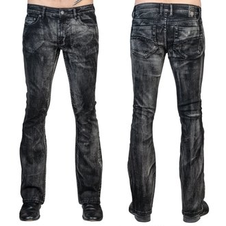 Men's trousers (jeans) WORNSTAR - Hellraiser Smoke - Black, WORNSTAR