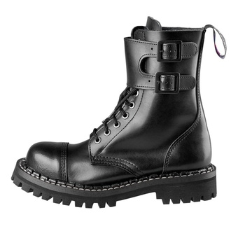 boots STEADY´S - 10 eyelet - Black, STEADY´S