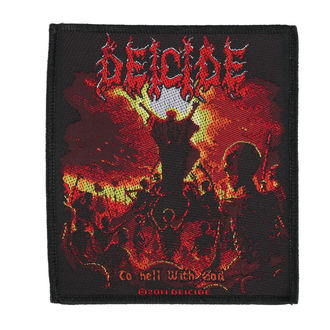 patch DEICIDE - TO HELL WITH GOD - RAZAMATAZ, RAZAMATAZ, Deicide