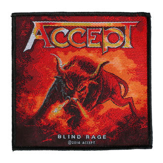 patch ACCEPT - BLIND RAGE - RAZAMATAZ, RAZAMATAZ, Accept