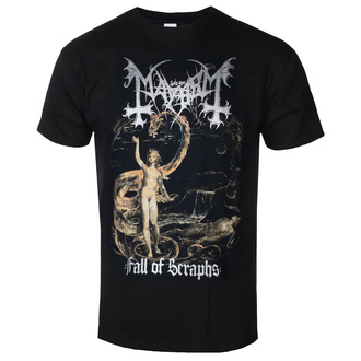 t-shirt metal men's Mayhem - Fall Of Seraphs - RAZAMATAZ, RAZAMATAZ, Mayhem
