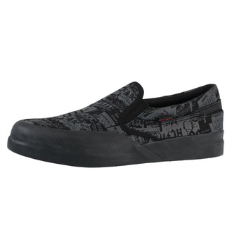 Women's shoes DC - AC / DC - TNT. - SLIP ON - BLACK, DC, AC-DC