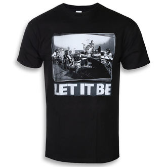 t-shirt metal men's Beatles - Let It Be Studio - ROCK OFF, ROCK OFF, Beatles