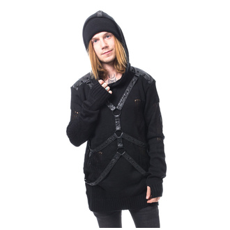 Men's jumper Heartless - ADYN - Black, HEARTLESS