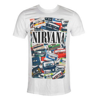 Men's t-shirt Nirvana - Cassettes - ROCK OFF, ROCK OFF, Nirvana