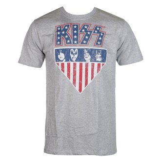 Men's t-shirt Kiss - Stars And Stripes - ROCK OFF, ROCK OFF, Kiss