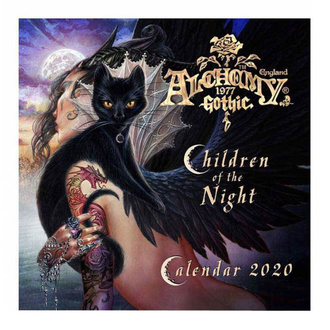 Calendar ALCHEMY GOTHIC - Children Of The Night - CAL20