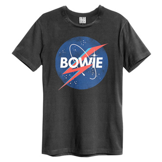 Men's t-shirt BOWIE - TO THE MOON - CHARCOAL - AMPLIFIED, AMPLIFIED, David Bowie