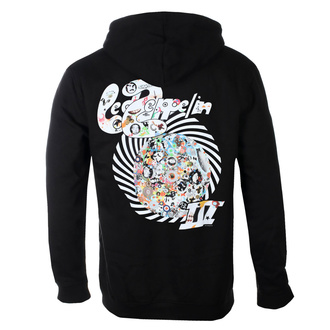 Men's hoodie Led Zeppelin - Swirl III - Black, NNM, Led Zeppelin