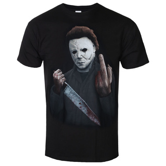 film t-shirt men's Halloween - MIDDLE FINGER - PLASTIC HEAD, PLASTIC HEAD, Halloween