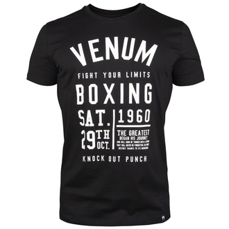 t-shirt street men's - Knock Out - VENUM - VENUM-03664-001