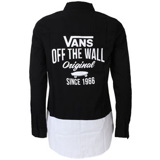Shirt Women's VANS - SKATE STACK - Black, VANS
