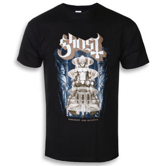 t-shirt metal men's Ghost - Ceremony & Devotion - ROCK OFF, ROCK OFF, Ghost