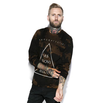 sweatshirt (no hood) men's - As Above - BLACK CRAFT, BLACK CRAFT
