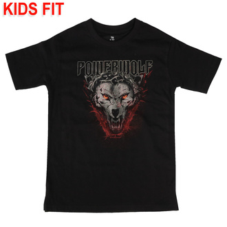 t-shirt metal children's Powerwolf - (Icon Wolf) - Metal-Kids, Metal-Kids, Powerwolf