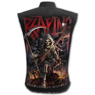 Men's sleeveless shirt (vest) SPIRAL - REAPING TOUR - Black, SPIRAL