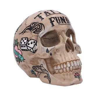 Decoration (money box) Tattoo Fund - Bone - B5110R0