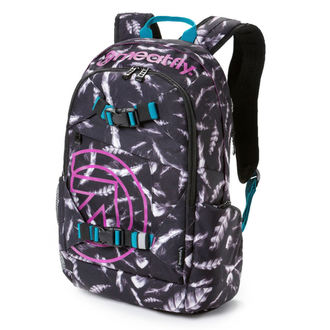 backpack MEATFLY - Basejumper 3 - M Feather Grayscale - MEAT117