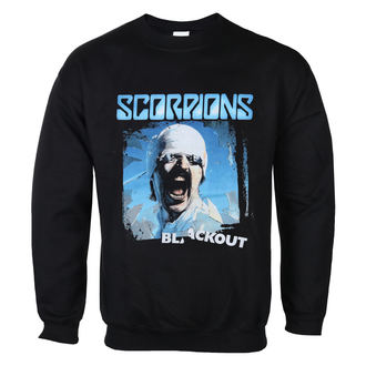 sweatshirt (no hood) men's Scorpions - Blackout - LOW FREQUENCY, LOW FREQUENCY, Scorpions