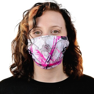 veil (mask) CHEMICAL BLACK - BIOHAZARD - WHITE / PINK, CHEMICAL BLACK