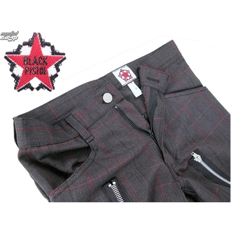 pants men Black Pistol - Two Leg Pants Tartan - Grey
