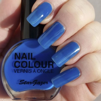 Nail polish STAR GAZER - Neon Blue, STAR GAZER