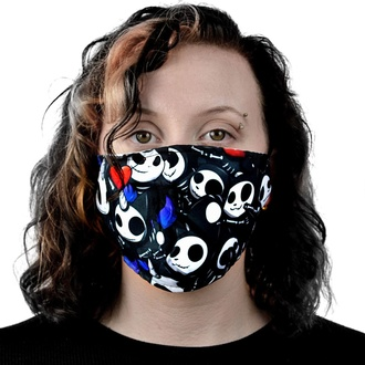 Face mask CUPCAKE CULT - BONE WARS - BLACK, CUPCAKE CULT