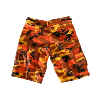 shorts men US-BDU Short Import - ORANGE, MMB