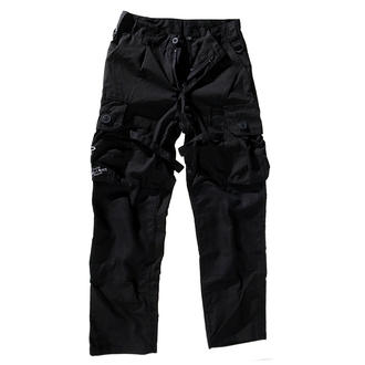 pants men BOOTS & BRACES - Pant Nightmare - Black - 300616