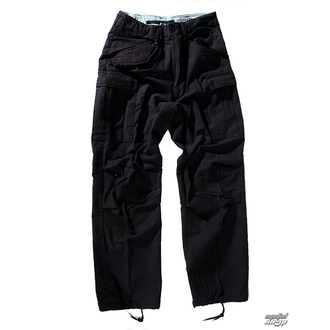 pants men M65 Pant NyCo washed - Black - 200201