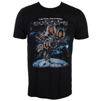t-shirt metal men's Europe - FINAL COUNTDOWN - LIVE NATION, LIVE NATION, Europe