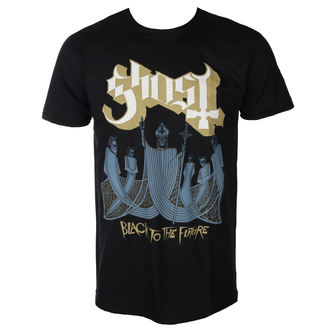 t-shirt metal men's Ghost - BLACK TO THE FUTURE - PLASTIC HEAD - PH10761