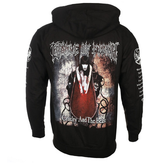 hoodie men's Cradle of Filth - CRUELTY AND THE BEAST - PLASTIC HEAD, PLASTIC HEAD, Cradle of Filth