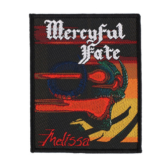 Patch Mercyful Fate - Melissa - RAZAMATAZ, RAZAMATAZ, Mercyful Fate
