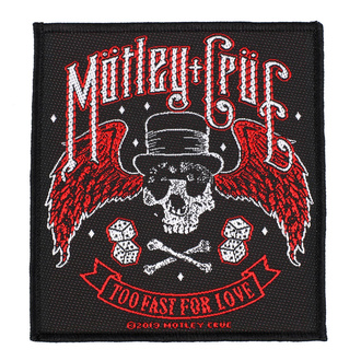Patch Mötley Crüe - Too Fast For Love - RAZAMATAZ, RAZAMATAZ, Mötley Crüe