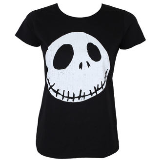 film t-shirt women's Nightmare Before Christmas - CRACKED FACE - PLASTIC HEAD, PLASTIC HEAD