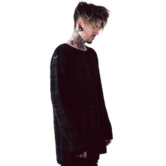 Unisex jumper KILLSTAR - Darklands - TARTAN, KILLSTAR