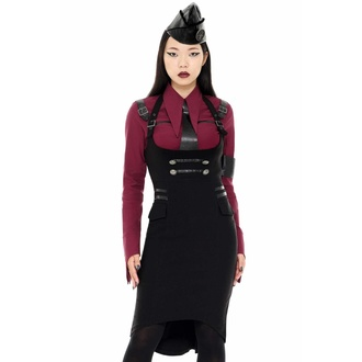 Women's skirt KILLSTAR - Darkwave Division - BLACK - KSRA002432