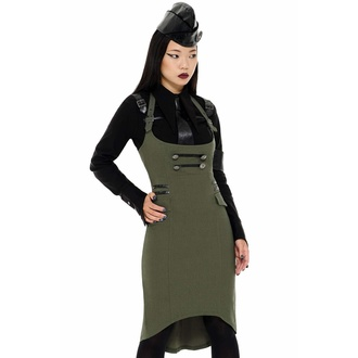 Women's skirt KILLSTAR - Darkwave Division - KHAKI - KSRA002434
