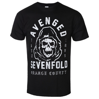 Men's t-shirt Avenged Sevenfold - So Grim Orange - ROCK OFF, ROCK OFF, Avenged Sevenfold