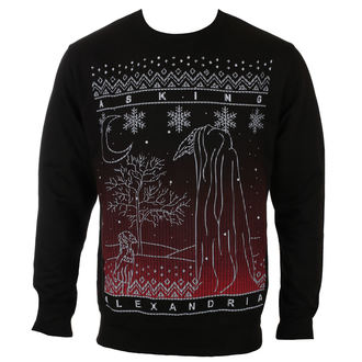 sweatshirt (no hood) men's Asking Alexandria - THE BLACK CHRISTMAS - PLASTIC HEAD, PLASTIC HEAD, Asking Alexandria