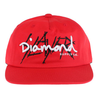 Cap SLAYER - DIAMOND - Unstructured - Red, DIAMOND, Slayer