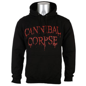hoodie men's Cannibal Corpse - DRIPPING LOGO - PLASTIC HEAD - PH10421HSW